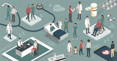 Interfacing health care IT systems